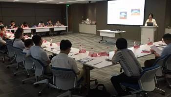 上海市智慧园区发展促进会换届理事通气会在江森自控亚太总部大楼顺利召开