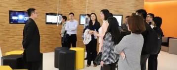 上海市智慧园区发展促进会一行参观上海智能制造系统创新中心